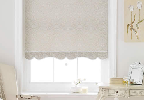 Roller Blinds in clarence taupe