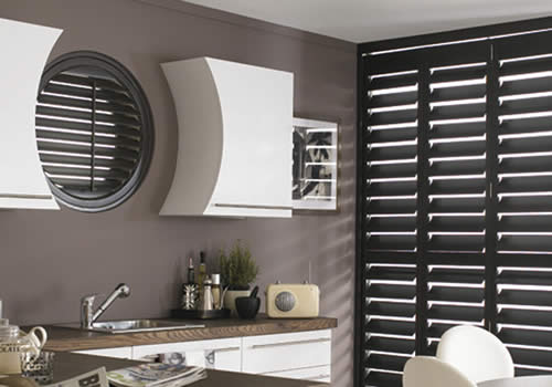 Shaped shutters from VBS Centurion Blinds