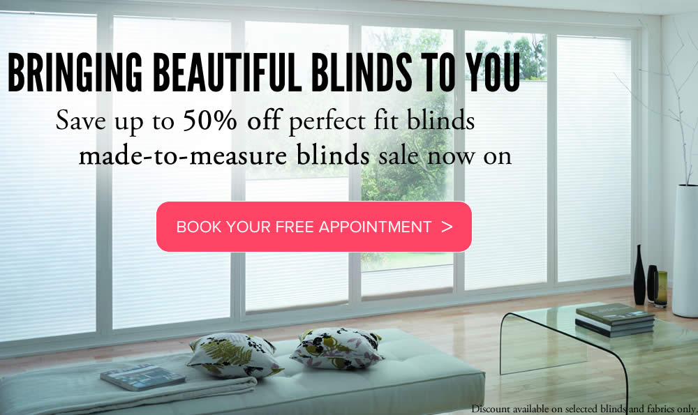 Perfect Fit blinds made to measure from Sunrite Blinds