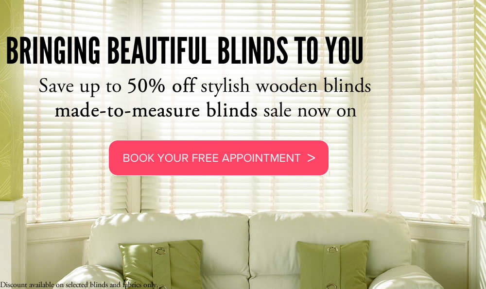 Wooden blinds made to measure from VBS Centurion Blinds
