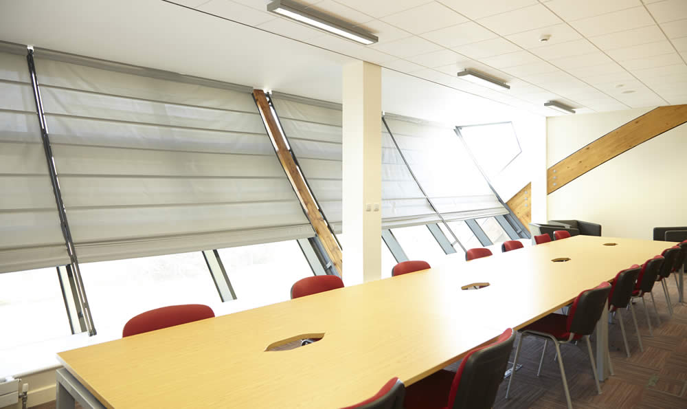 Image of commercial blinds from VBS Blinds