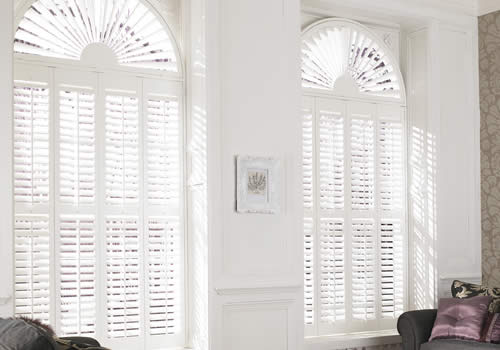 shaped shutters -archedwindowswhite-mobile