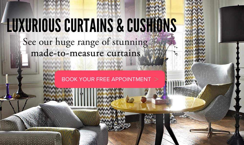Curtains made to measure from VBS Centurion Blinds