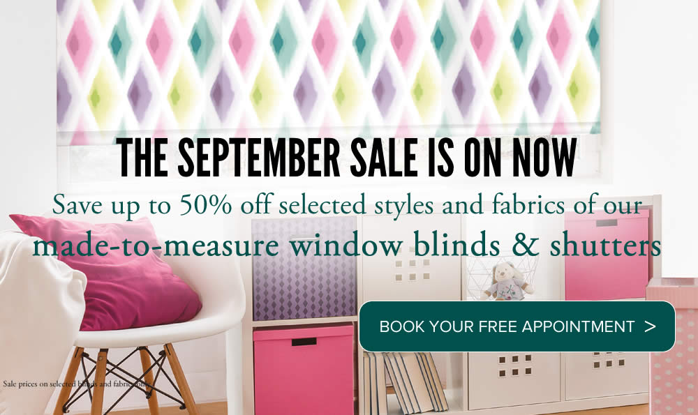 Image of made to measure roller blinds with Sale promotion